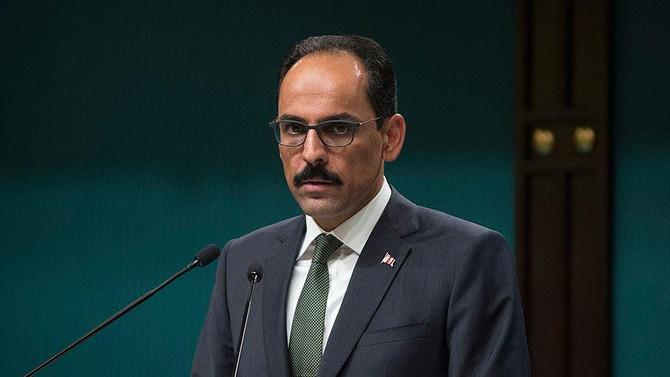 Cumhurbaşkanlığı Sözcüsü Kalın'dan Kudüs açıklaması