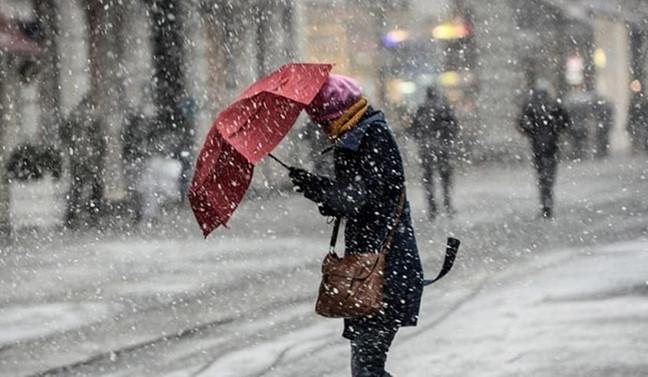İstanbul'da bugün kar yağışı bekleniyor