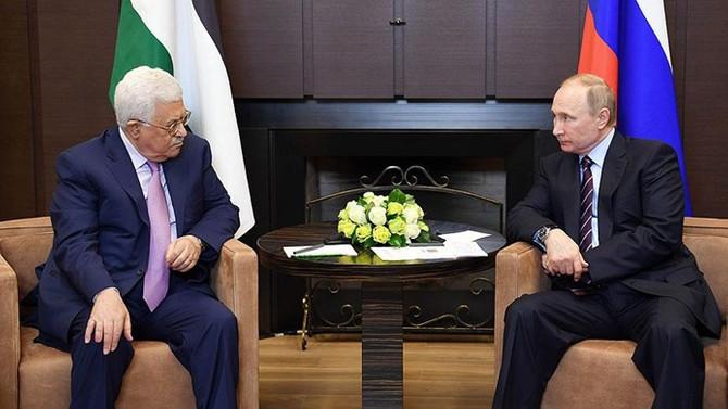 Putin ile Abbas 'Kudüs'ü görüştü