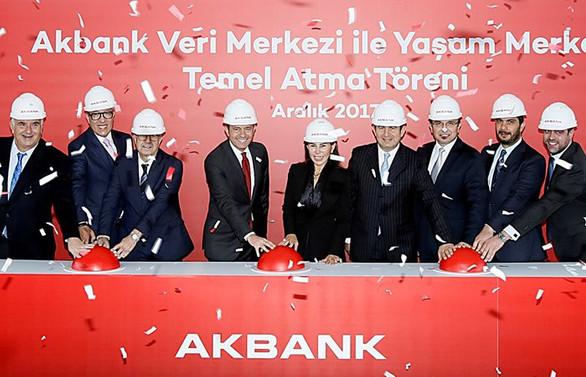 Akbank'tan 250 mi̇lyon dolarlık veri merkezi yatırımı