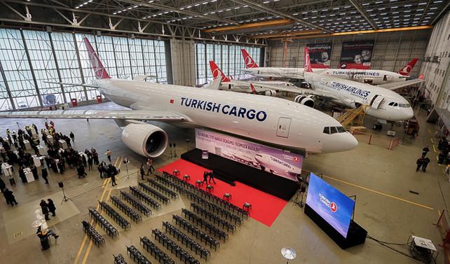 THY, ilk Boeing 777 kargo uçağını teslim aldı