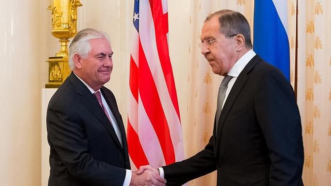 Lavrov ile Tillerson, Viyana'da bir araya geldi