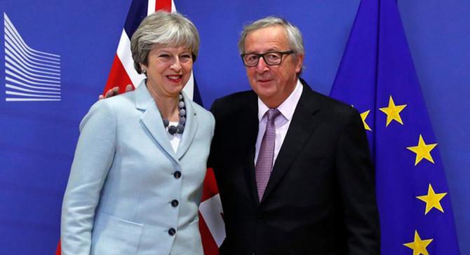 İngiltere ve AB, Brexit'in ilk aşaması için anlaştı