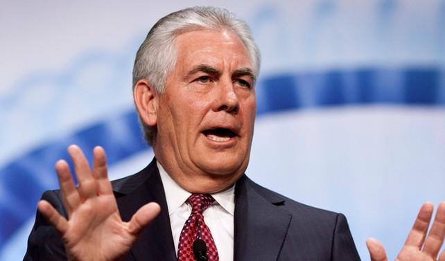 ABD'nin yeni dışişleri bakanı Tillerson