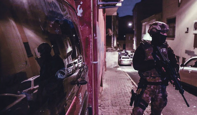 Bir haftada 520 kişi gözaltına alındı