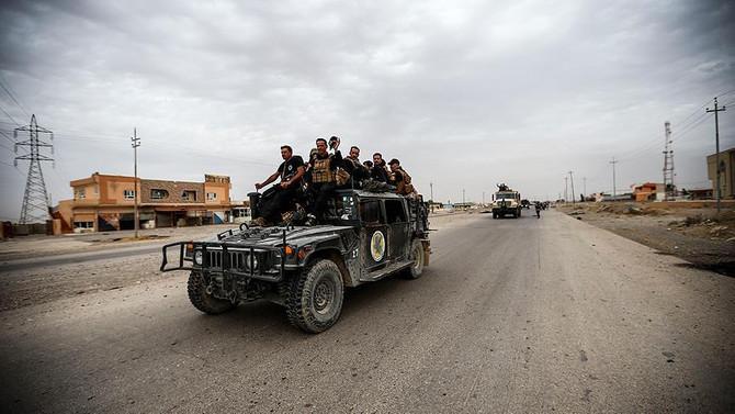 Musul'un batısında DEAŞ operasyonu başladı