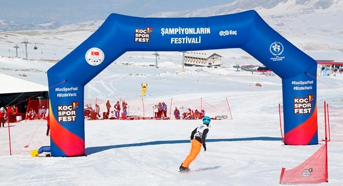 Erciyes, Koç Spor Fest kış oyunlarına ev sahipliği yaptı