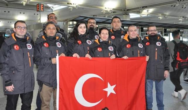 Türk heyeti Antarktika'da