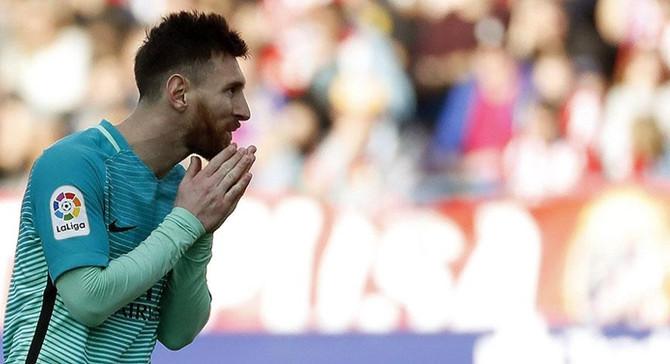 Barcelona'ya 3 puanı Messi getirdi