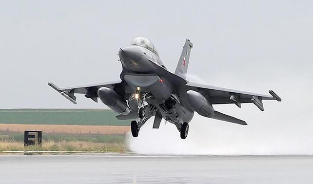 DEAŞ'a ait 64 hedefe hava harekatı düzenlendi