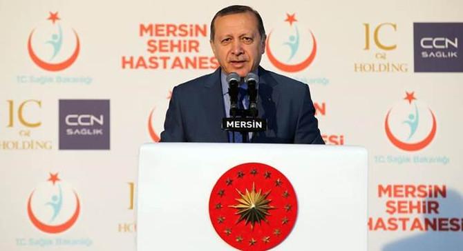 Erdoğan, Mersin Şehir Hastanesini açtı