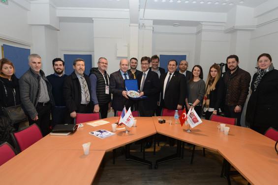 Bursalı tekstilciler Fransızlarla işbirliği masasında