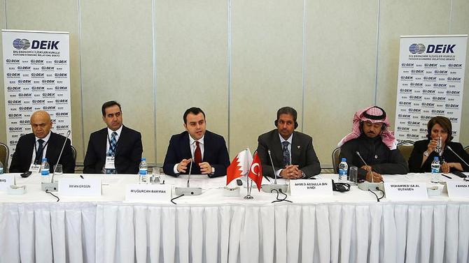 Bahreynli iş adamlarına Türkiye'ye ziyaret çağrısı