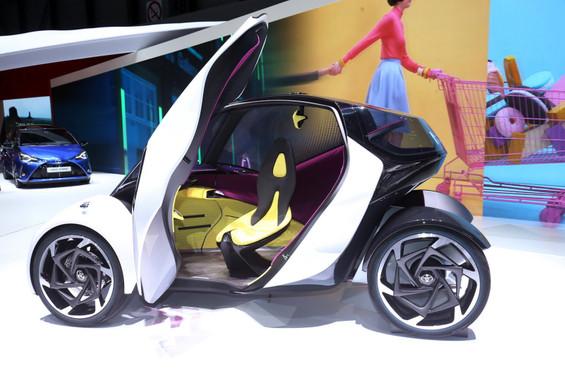 Toyota pedalsız otomobilini tanıttı