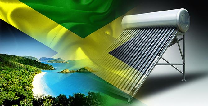 Jamaika güneş enerjili su ısıtıcılar ithal edecek