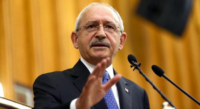 Kılıçdaroğlu: Türkiye'yi yeni maceraların içine sürüklemeyin