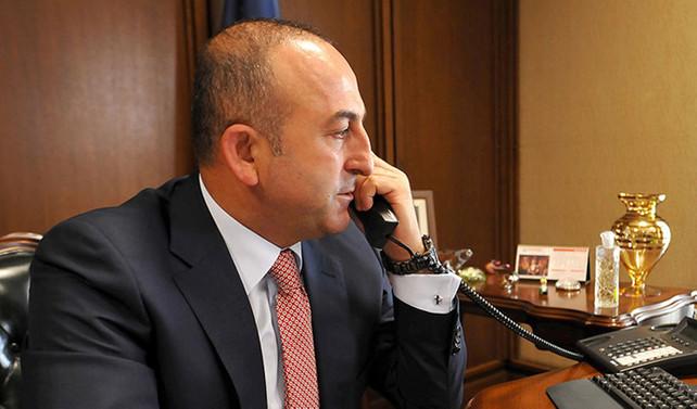 Avrupalı yetkililerle telefon diplomasisi