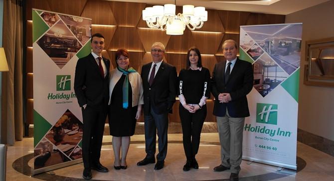 Holiday Inn Bursa City Centre kapılarını açıyor