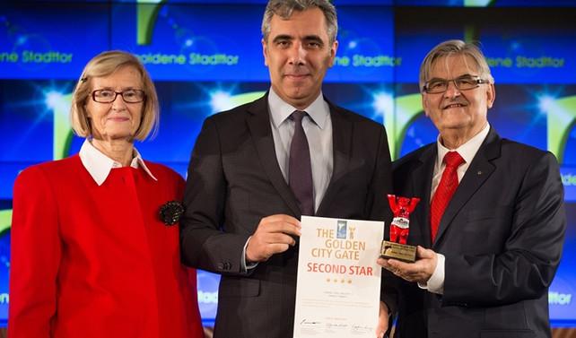 Almanya'dan Bursa'ya ödül