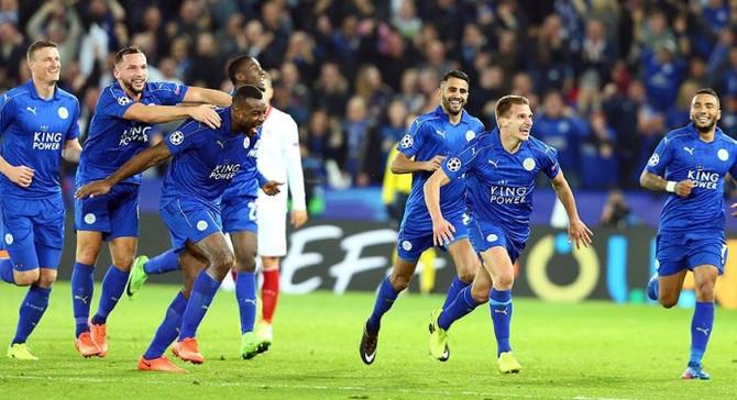 Şampiyonlar Ligi'nde Leicester sürprizi