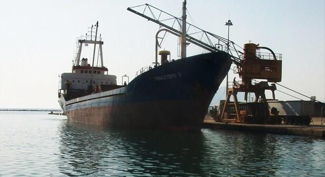 Akdeniz'de Türk gemisi battı