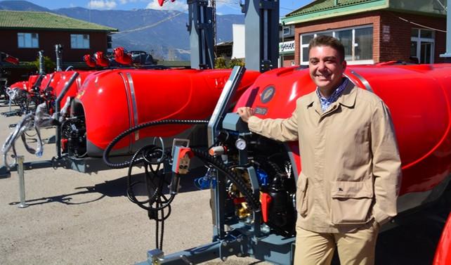 Yeni Zelanda'nın meyveleri Boa'nın makineleri ile ilaçlanacak