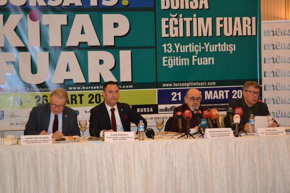 Kitap kurtları Bursa'da buluşuyor