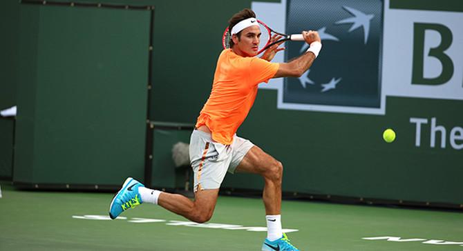 Indian Wells 5. kez  Federer'in