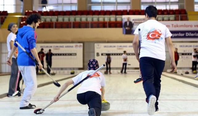 Curling resmen federasyon oldu
