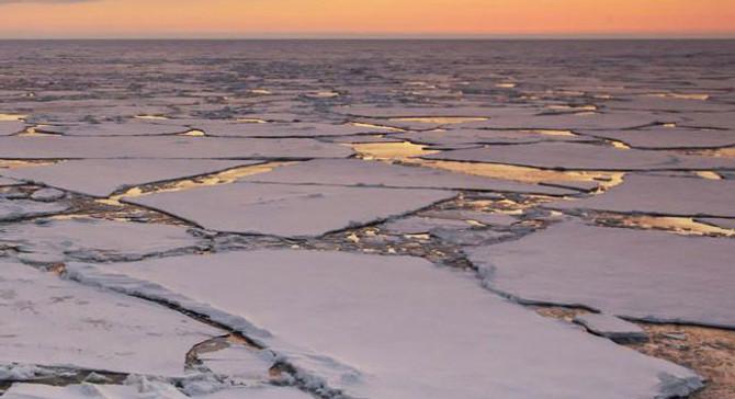Kutuplarda deniz buzu rekor düzeyde azaldı