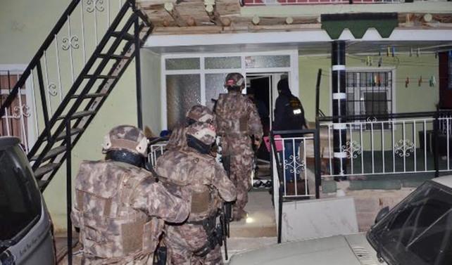 Konya merkezli 5 ilde uyuşturucu operasyonu