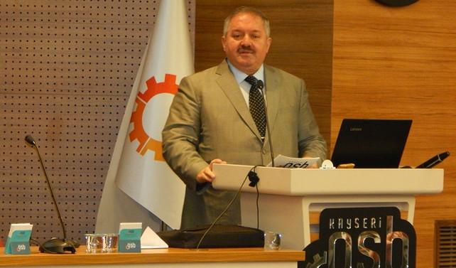 Nursaçan, Kayseri OSB başkanlığına yeniden aday