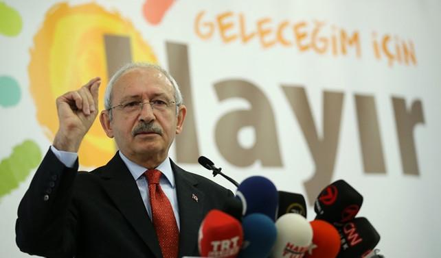 Kılıçdaroğlu: Anayasa değişikliği hiç bir sorunu çözmeyecek