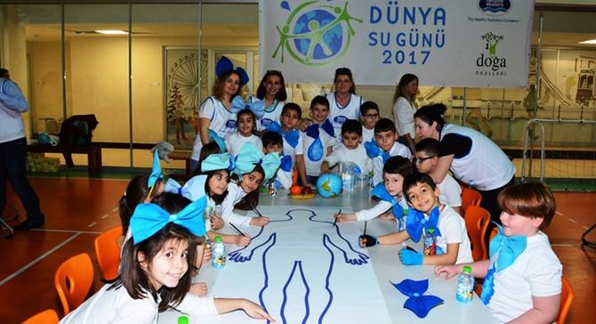 Bursalı çocuklar Dünya Su Günü'nü kutladı