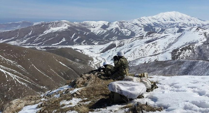 Bitlis'te 12 terörist etkisiz hale getirildi