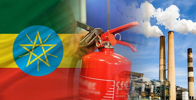 Etiyopya'da yangın tüpü imalatı için fabrika kurulacak