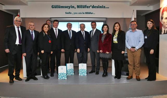 Nilüfer'e 'Alman evsel atık su arıtma tesisi'