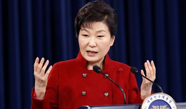 Güney Kore'de eski devlet başkanı tutuklandı