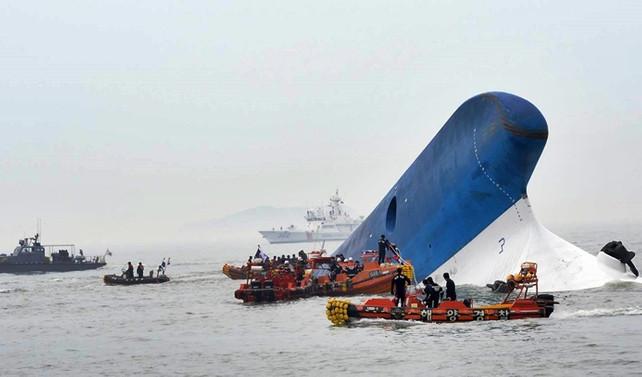 Sewol feribotunun enkazı 3 yıl sonra çıkarıldı