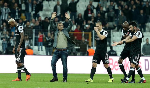 Beşiktaş liderliği pekiştirdi
