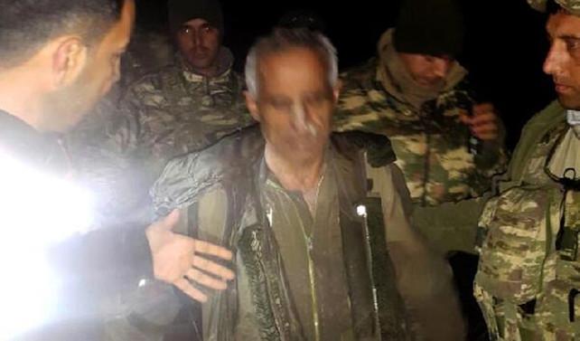 Suriyeli pilot bitkin halde bulundu