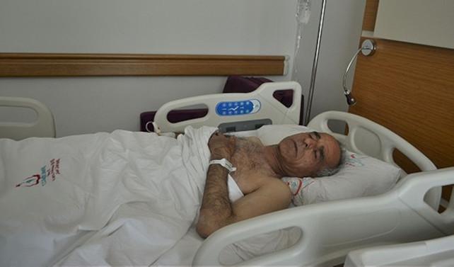 Suriyeli pilot Hatay'da ameliyat ediliyor