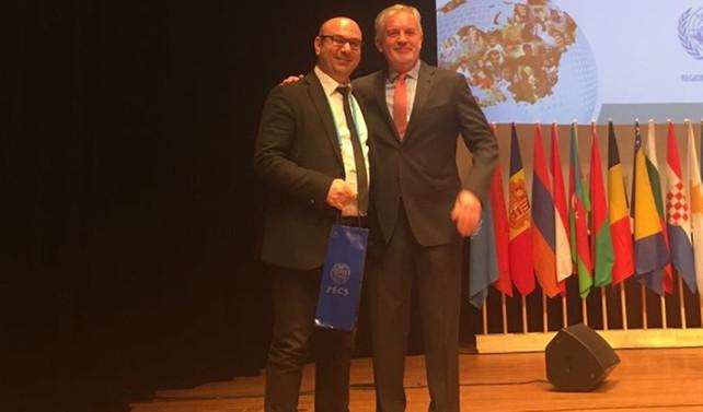 Sağlıklı Kentler Birliği, Macaristan'da ödül aldı