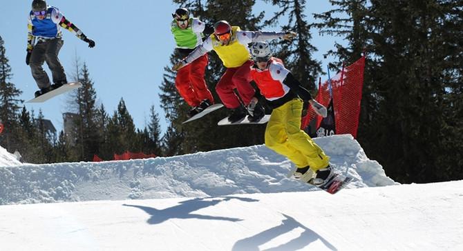 Erciyes, FIS Snowboard Dünya Kupası'nı ağırladı