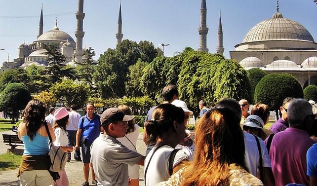 İstanbul'un ziyaretçisi azaldı