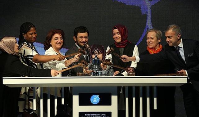 Borsa İstanbul'da gong kadınlar için çaldı