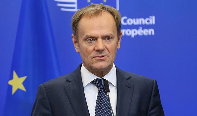 AB Konseyi Başkanı Tusk tekrar başkan seçildi