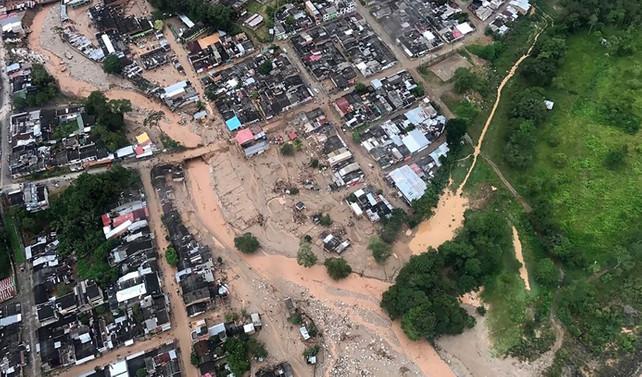 Kolombiya'da sel felaketi: 154 ölü