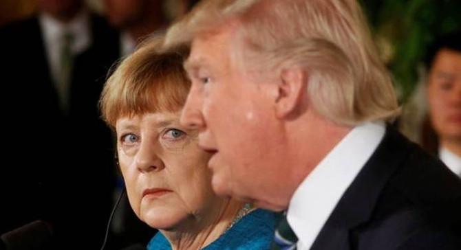 Merkel ve Trump görüştü