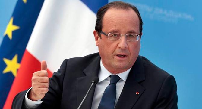 Hollande'dan BM'ye Suriye çağrısı